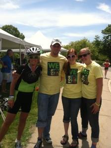 Board Members at the Memorial Ride CCG Foundation