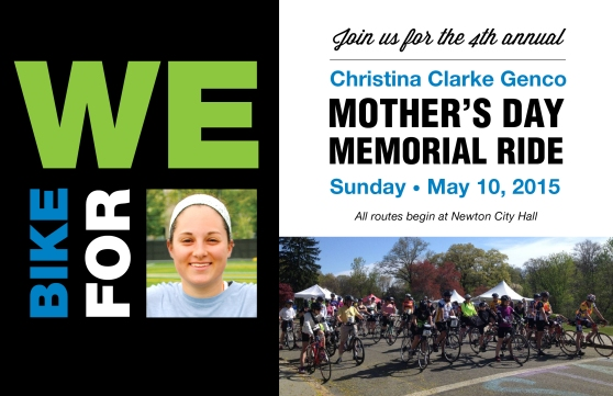 CCG Mother's Day Memorial Ride 2015